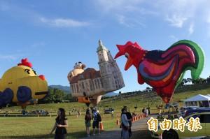 颱風要來了!台東熱氣球28-30日活動取消