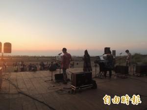 避風頭 竹北新月沙灘海洋音樂嘉年華延期
