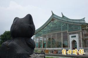 玻璃媽祖廟防颱措施好特別 被包起來的竟是‧‧‧