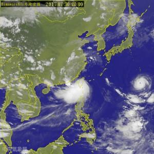 海棠雨大 高屏31日停班課 台南也臨時宣布停班課