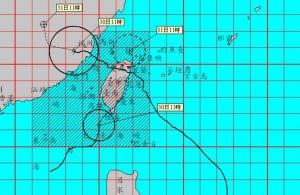 海棠暴風圈觸南台灣陸地 高屏嚴防超大豪雨