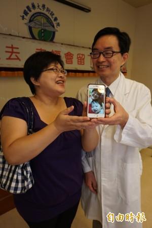 癌夫凍精保生機 四旬婦做試管驚險生下珍貴胎兒