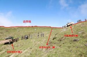 為戰爭做舖陳?中國公布照片指印軍非法滯留