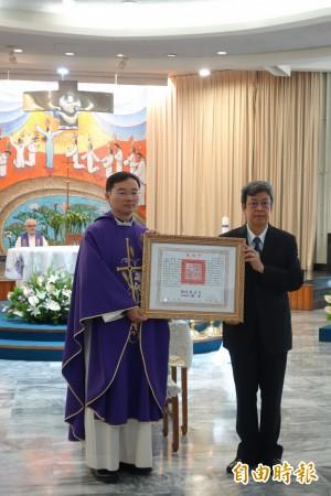生命最後仍堅持當台灣人 輔大羅四維神父今獲頒褒揚令