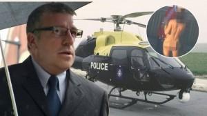 假公濟私!警察開直升機偷拍陽台活春宮