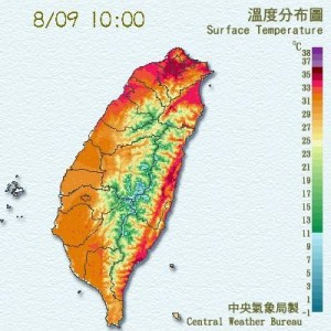 熱! 台北已達36度 中午恐飆37度以上高溫