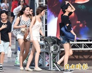 台北連續高溫37度止步  一連5天史上第二