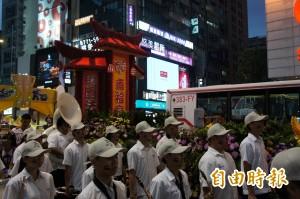 世大運踩街遊行挨罵像出殯 網友酸:中華民國美學