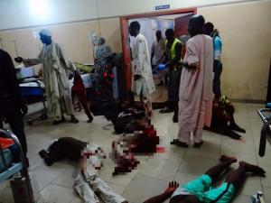 奈及利亞女自殺炸彈客襲擊 至少30死80傷
