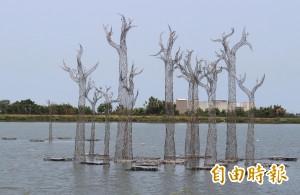 「花非花.樹非樹」 8噸重量級地景藝術超吸睛