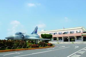 岡山火車站將有新面貌 戰機呈現「空軍之鄉」