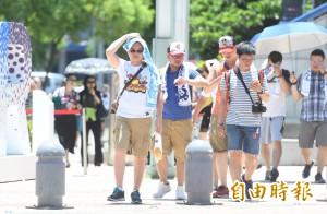 晴朗炎熱大台北36度 明起颱風恐影響台灣