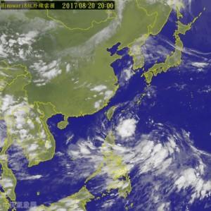 輕颱天鴿今晚11點發海警 東台灣首當其衝