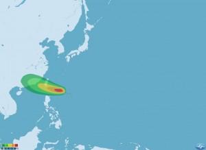 13號颱風天鴿下午2點生成 預計晚間發布海警