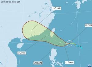 輕颱天鴿來了 長榮航空:颱風天若安全無虞 勞方應出勤