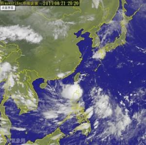 天鴿颱風腳步逼近 交通船明13航線停駛