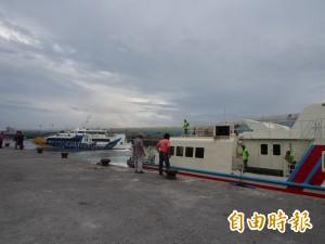 天鴿颱風影響 交通船今14航線停航