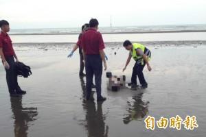 竹南沙灘驚見男屍 身分待查