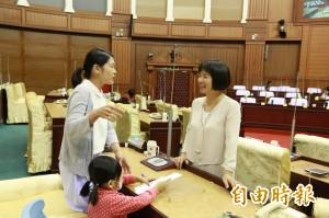 中市第2屆青年議會 林依瑩盼造就更多關心公共事務人才