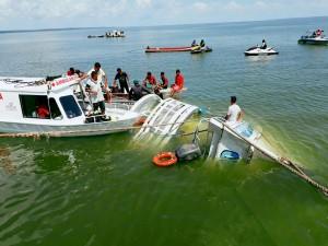巴西船難事故 至少10死、40人失蹤