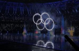 中國全運會開幕出包   奧運五環變四環