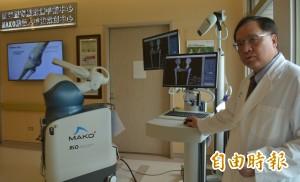 機器人手臂換關節 誤差僅1毫米