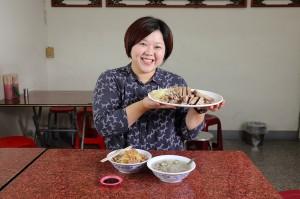 台中市議員顏莉敏 最愛吃鵝肉
