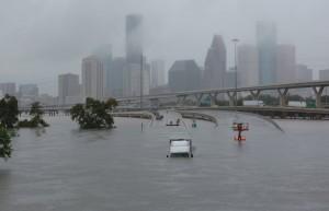 哈維好狂!50年最強颶風毀德州 經濟損失恐達3兆