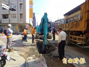 不會老在挖馬路 大里、太平納「管線統一挖補」範圍