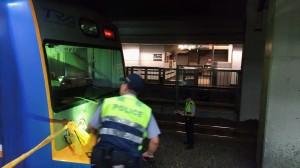 台北車站1名旅客跳軌 被區間車撞死