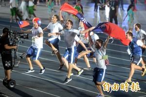 披我國旗繞場遭FISU警告 阿根廷選手:管他怎麼說 台灣愛我們