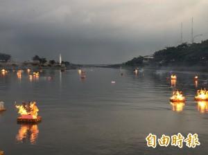 流傳百年不輟 鹿港放水燈可列世界紀錄