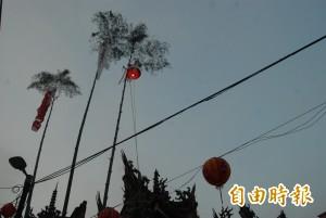 豎燈篙、放水燈 三峽祖師廟慶讚中元