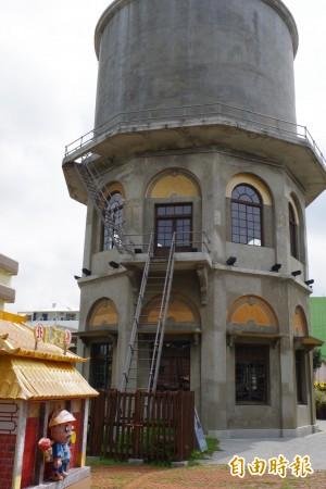 北港十角水塔 遊客讚台灣10大絕美遊客中心