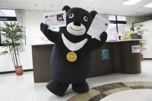 「熊讚」美女操偶師被讚爆 台大教授:是台灣的媚俗
