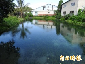 埔里出好水! 枇杷里「五港泉」有多處天然湧泉