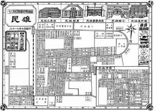 把消失景象畫回來 藥師手繪1970民雄街區圖