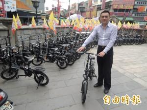 信徒捐單車朝天宮 暢遊北港可以更輕鬆