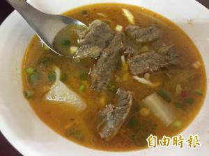天天吃好料》豐原區九寨溝牛肉麵 羌族特殊風味
