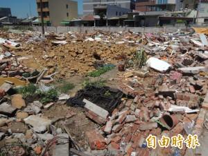私娼寮拆後廢棄物 竹縣府認定為掃盪專案將「自清」