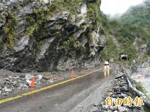 中橫公路易落石 公路總局盤點34處危險路段