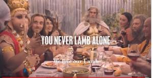 印度象神現澳洲廣告吃肉    印度住民連署表達不滿