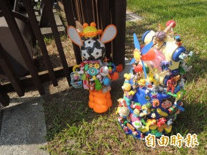 廢物利用 二手玩具回收打造裝置藝術
