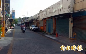 台南觀光城沒落市府擬收回 店家人心惶惶