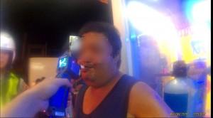 第4次酒駕被捕 醉漢嗆:我要跑掉,開槍啊!
