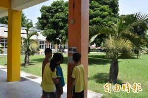 學校安靜中廊 學童巧思變鳥踏廊道
