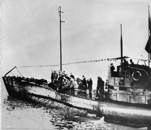 比利時外海尋獲一戰德軍潛艇  發現內有23具官兵遺體