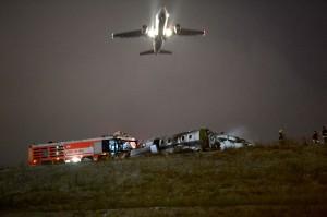 土耳其飛機墜毀斷兩截 機上4人奇蹟生還