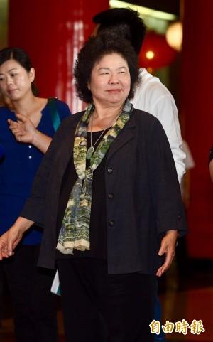 特赦扁 陳菊:黨代表應給蔡總統空間