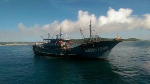 中秋近中國漁船蠢動 越界捕撈遭我海巡查獲